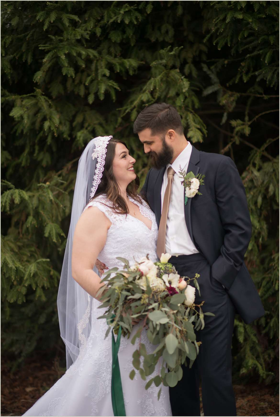winter wedding in the pacific north west