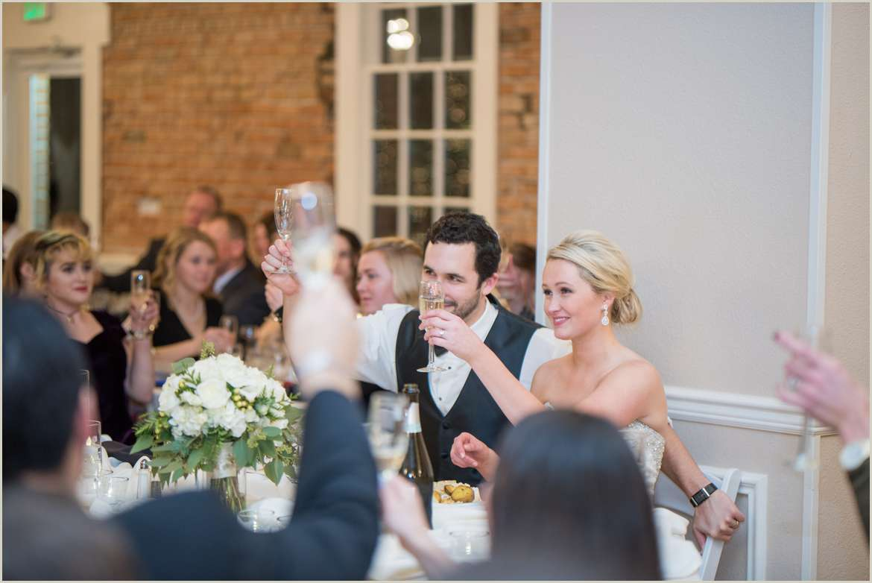 winter wedding reception 1