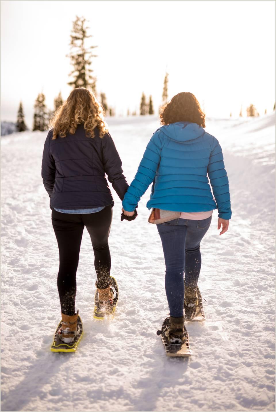 active engagement photos for adventurous couples