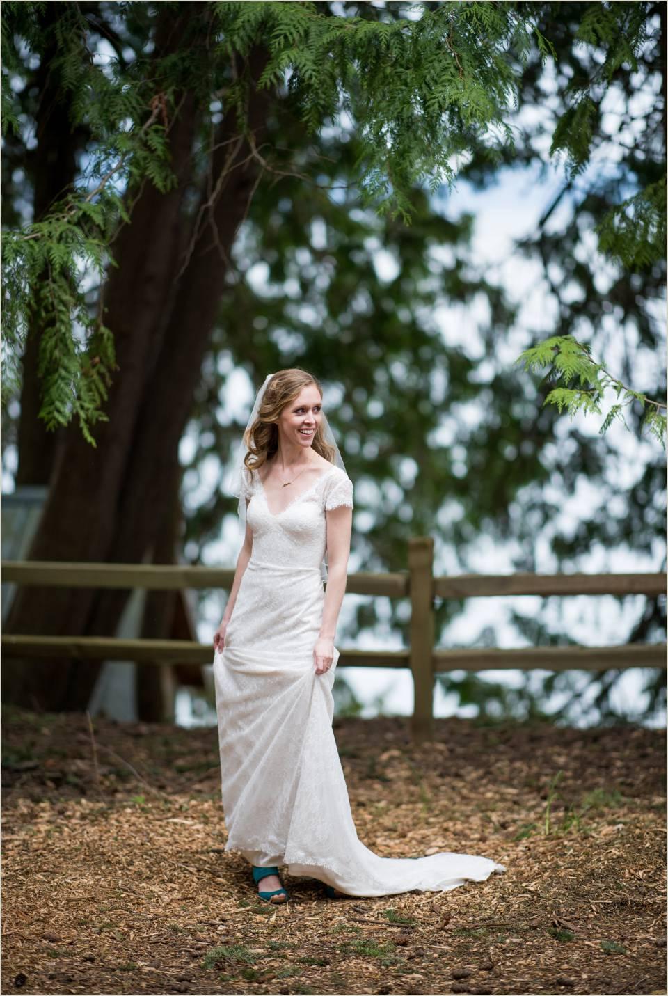 adventurous bride summer camp wedding