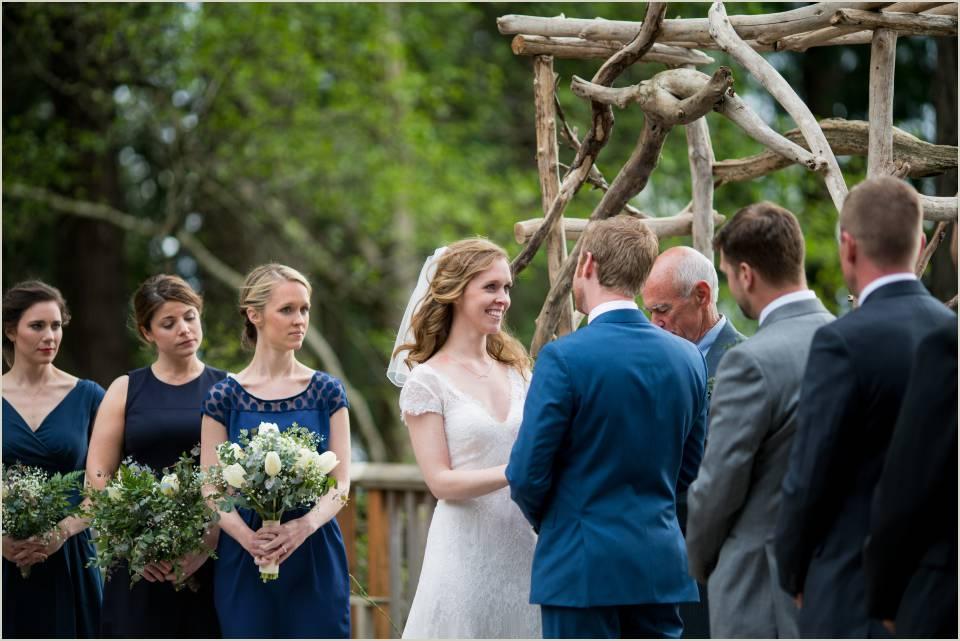 camp orkila wedding ceremony