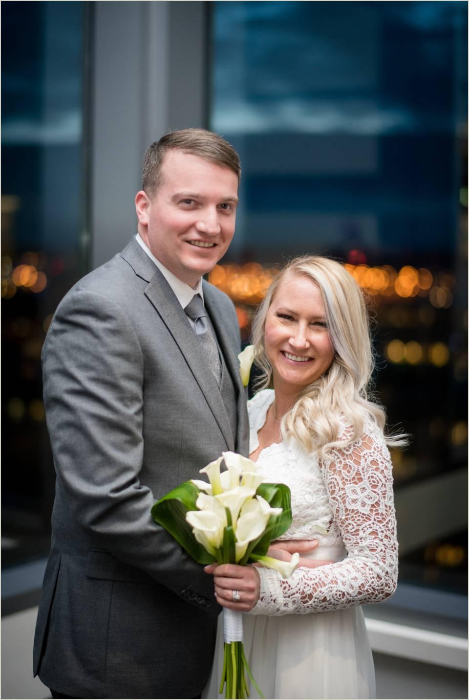 formal wedding photos husband and wife
