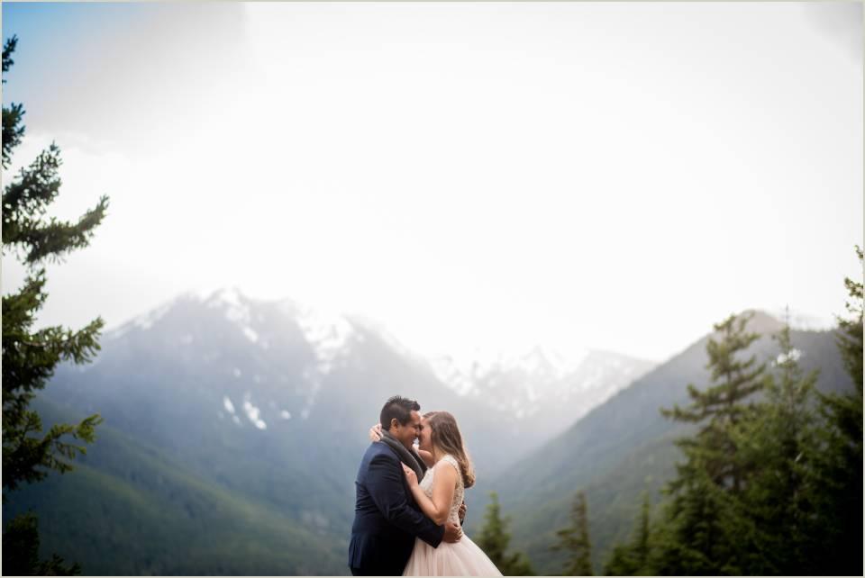 hurricane ridge wedding photos 1