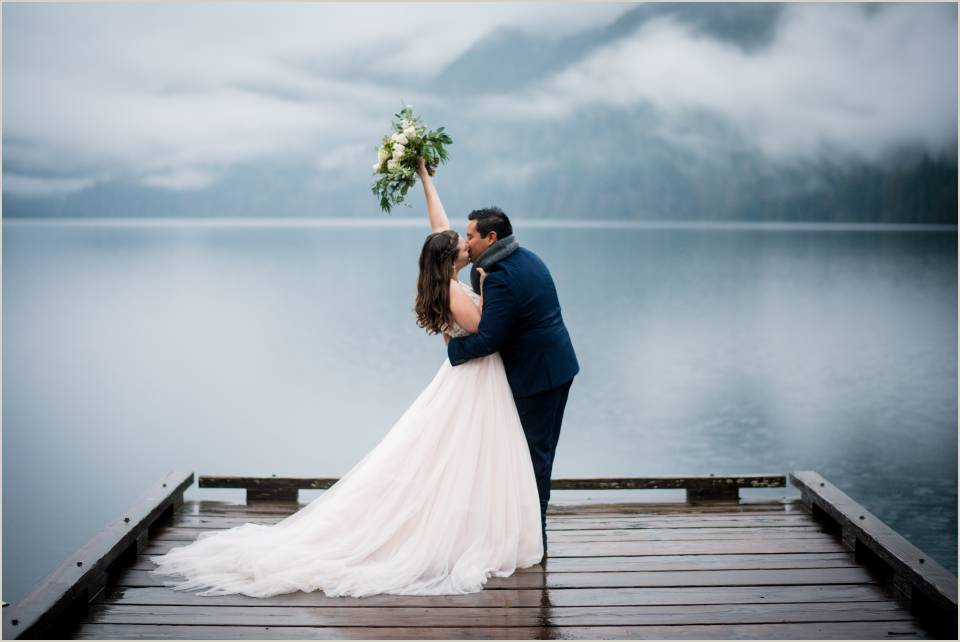 mood pnw clouds wedding photo 1