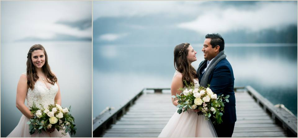 moody pacific north west elopement photos 1