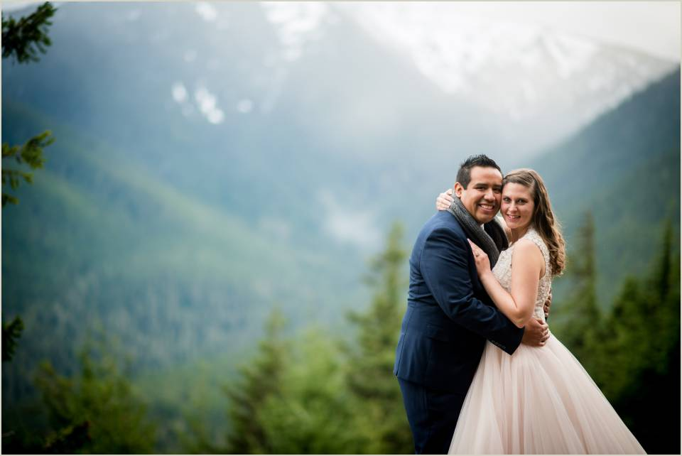 mountain elopement in olympic national park 1