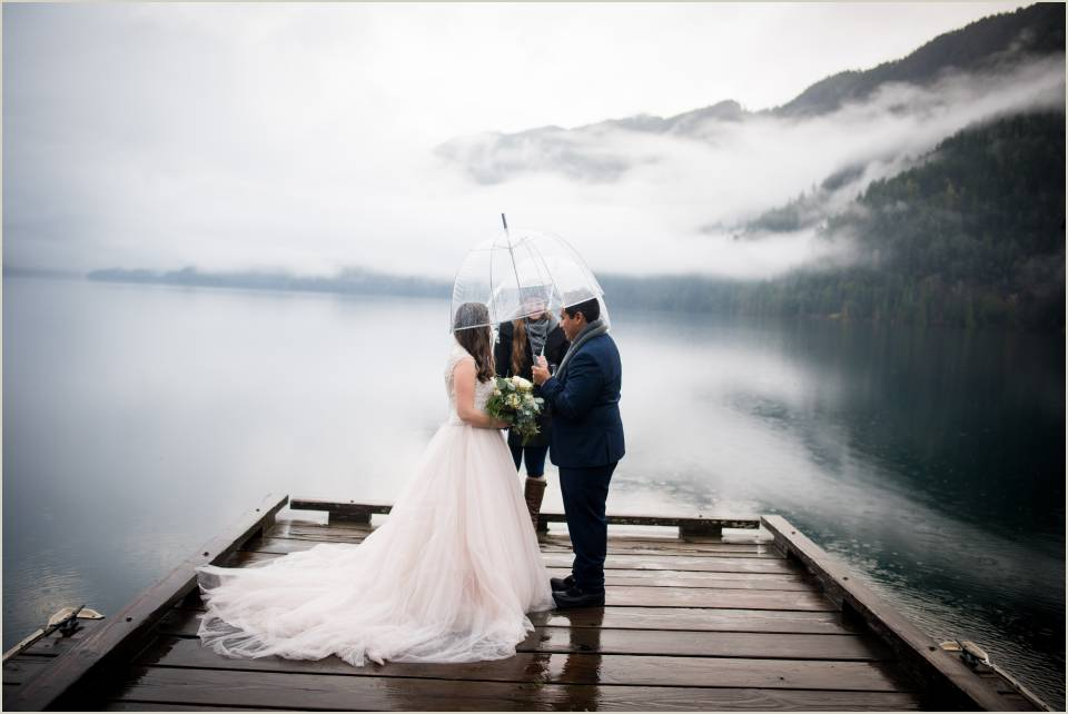 rainy lake crescent elopement 1