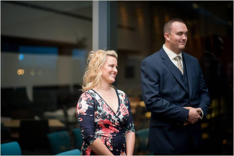 wedding day best friends elopement