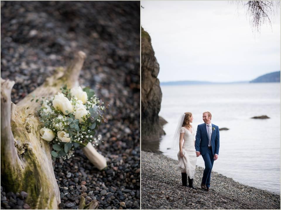 wedding photos on orcas island