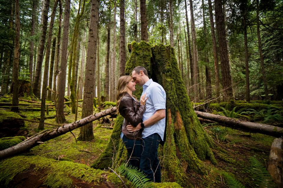 adventure engagement session in washington state