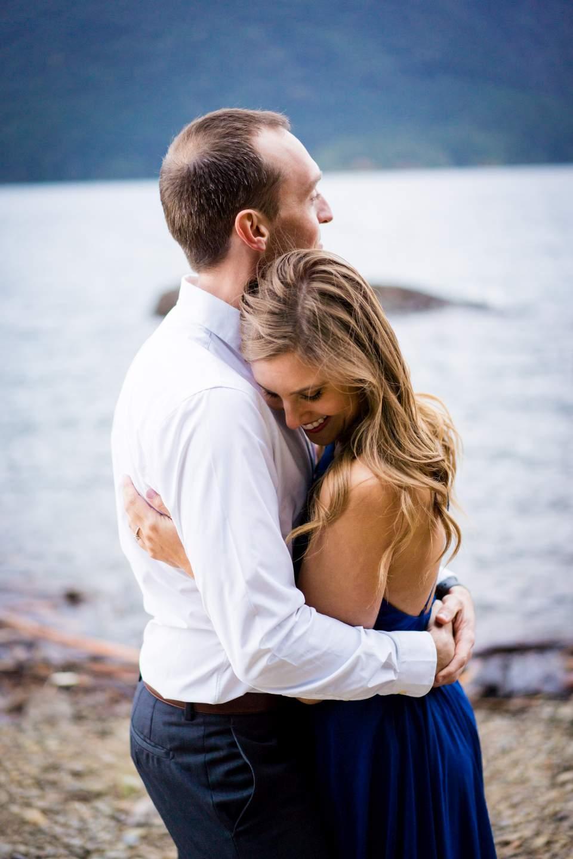 candid engagement photos