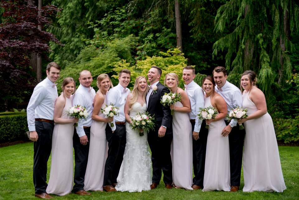 classic style seattle wedding
