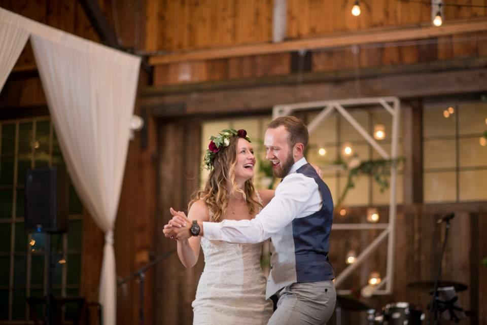 fun wedding first dance