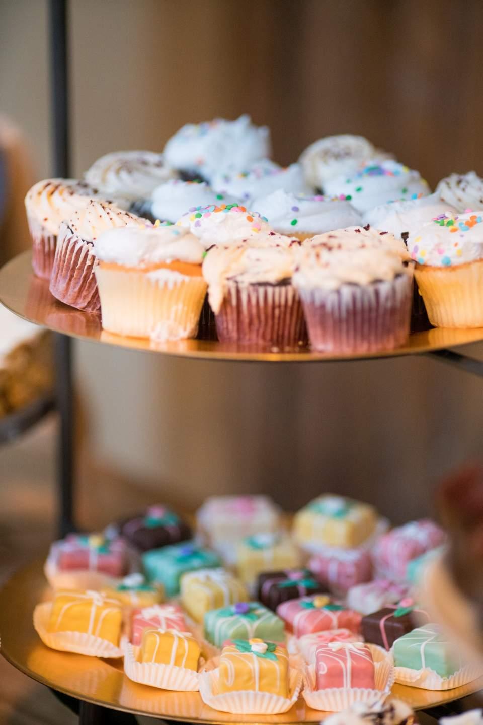 homemade cupcakes for dessert bar