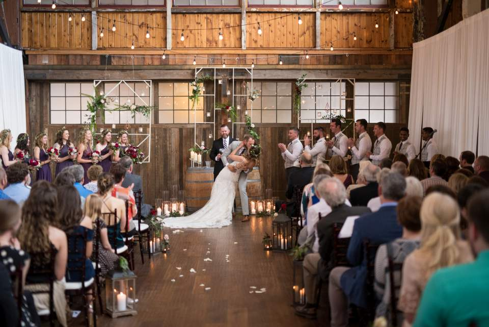 industrial boho chic seattle wedding at sodo park by herban feast