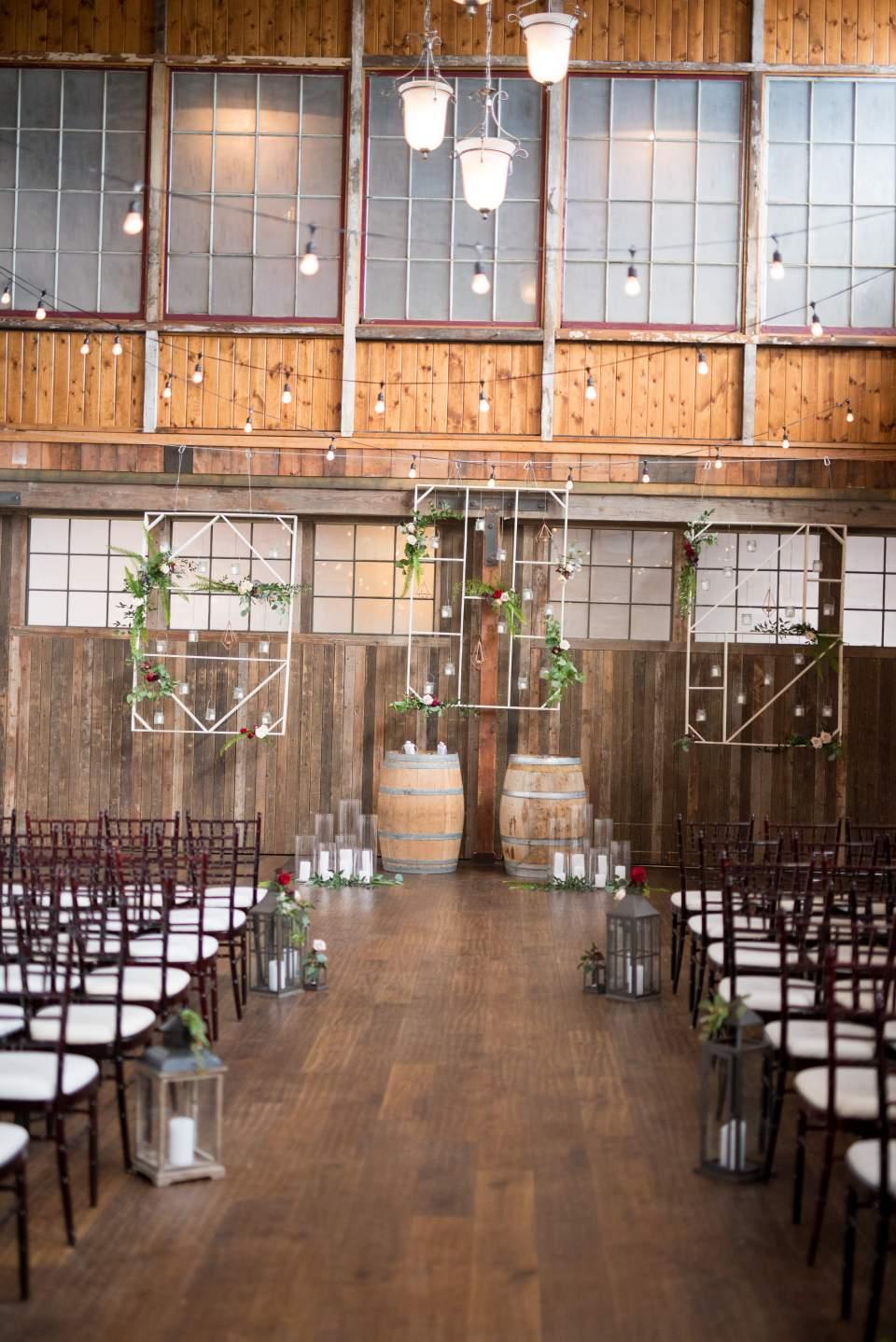 industrial boho chic sodo park wedding
