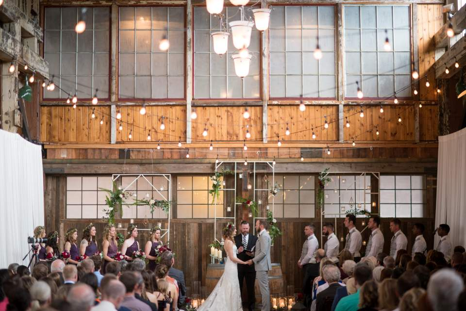 industrial seattle wedding venue sodo park