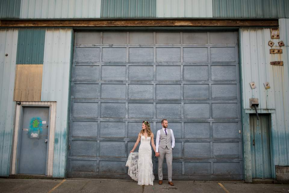 sodo park seattle wedding photos