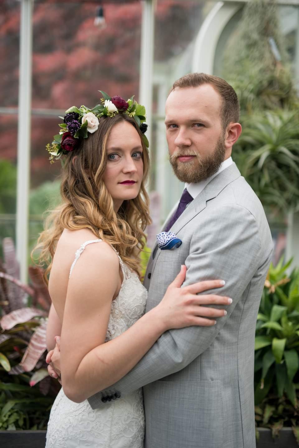 volunteer park conservatory wedding photos