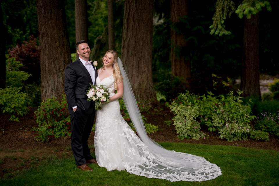 wedding at rock creek gardens