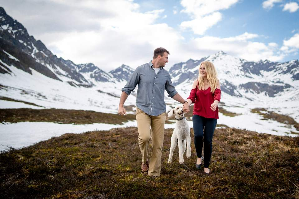 anniversary photos at hatcher pass