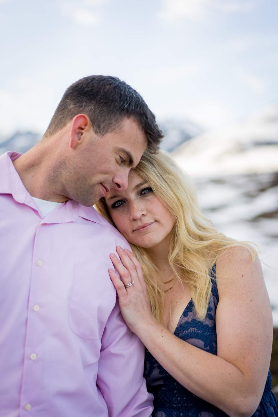 anniversary photos in the mountains