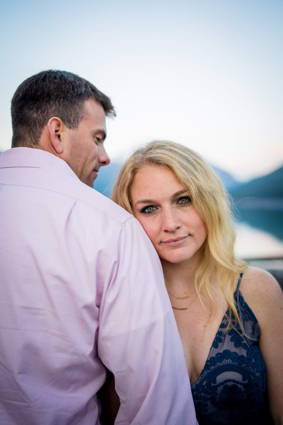 anniversary session at lake eklutna