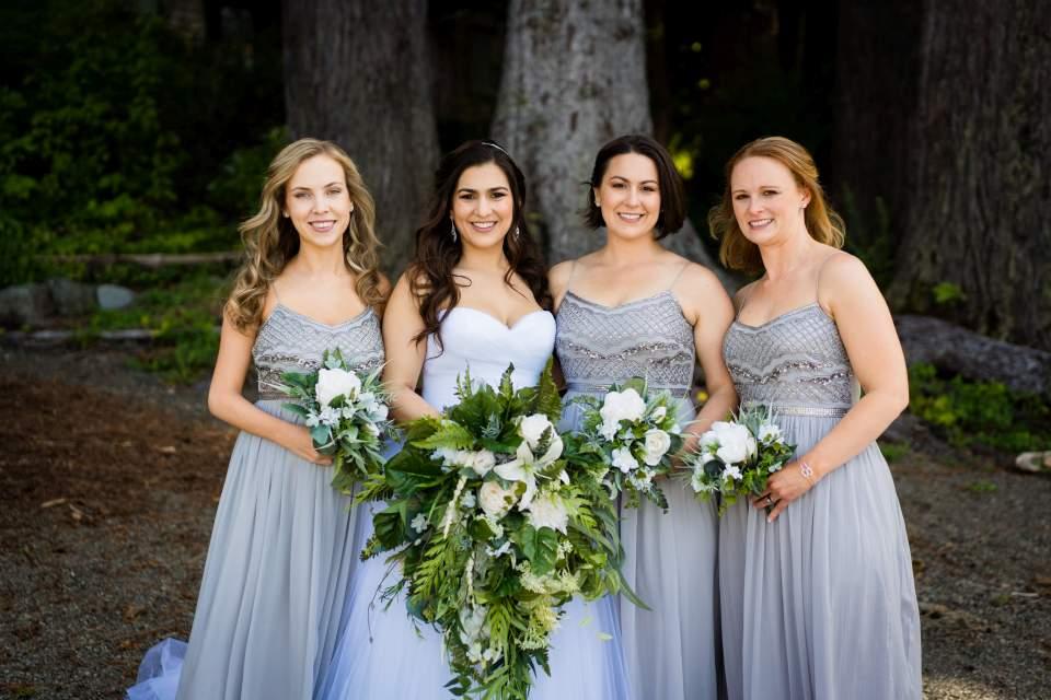 bridesmaids photos lake quinault lodge