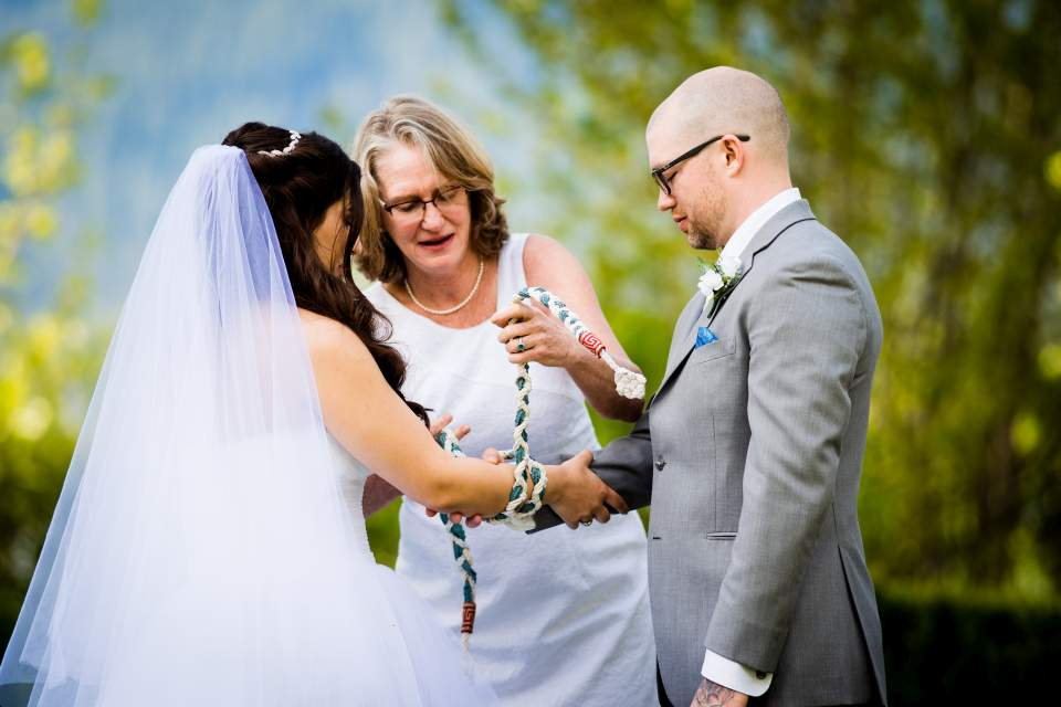 celtic hand fastening ceremony wedding