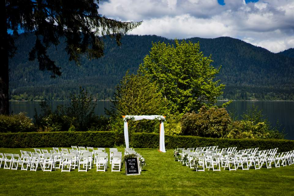 ceremony space lake quinault lodge