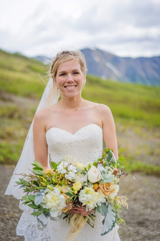 classic adventure bride photo
