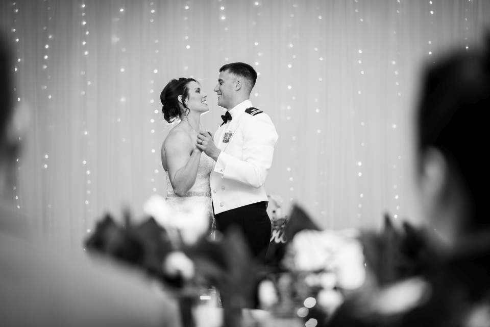 creative photo of first dance