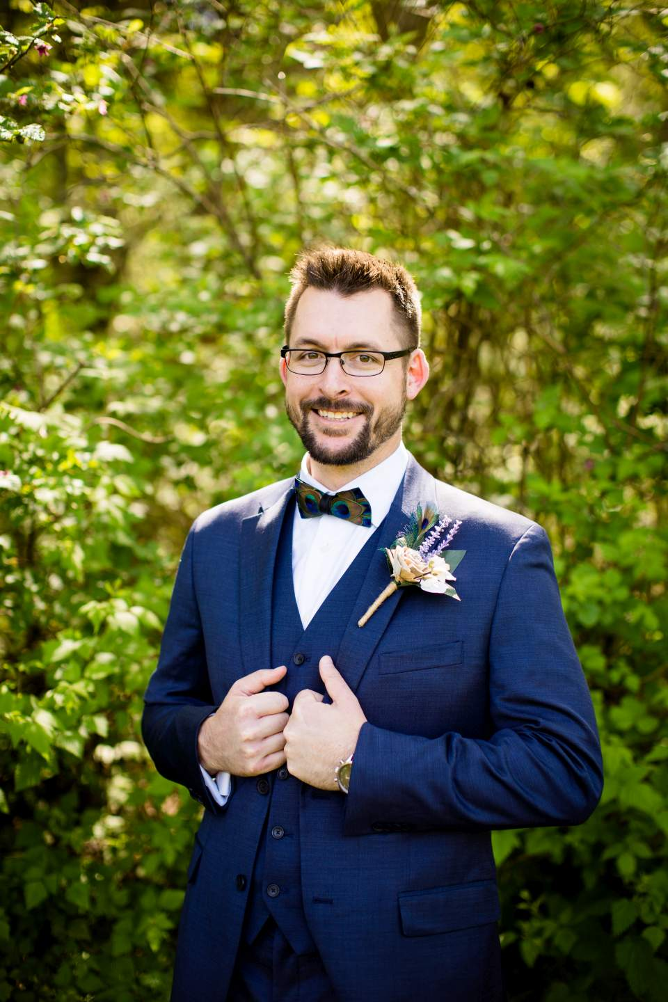 dapper groom photo