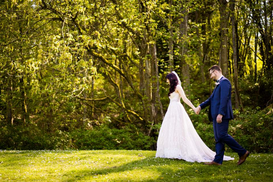 discovery park wedding photos