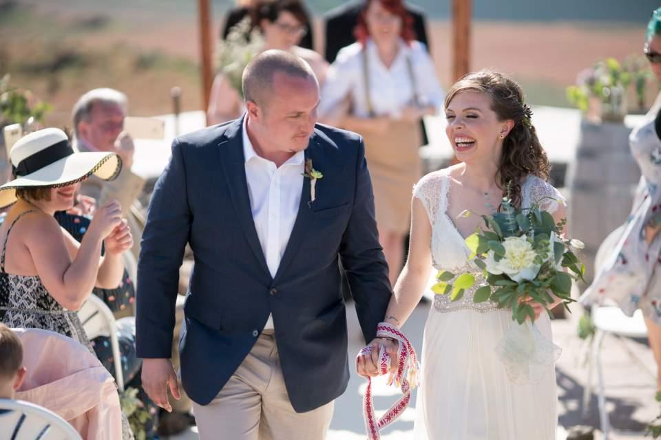 eastern washington wedding