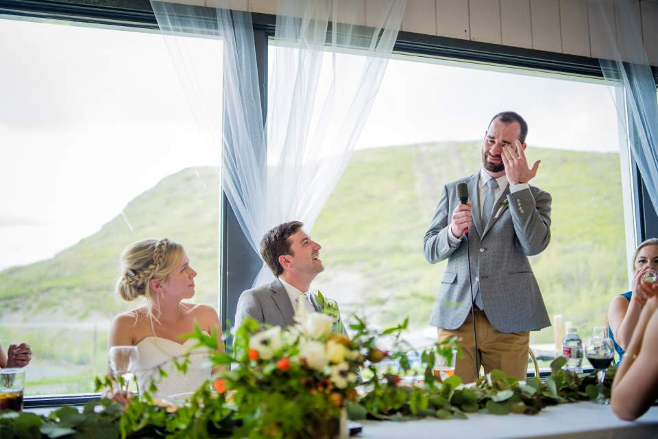 emotional groomsmen toast