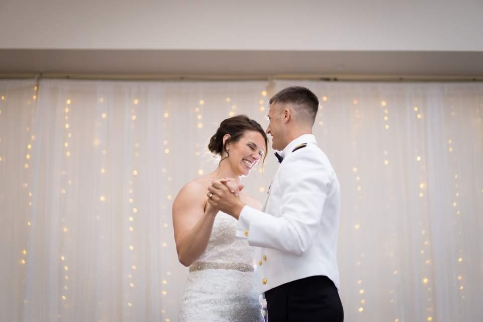 first dance at wedgewood ken caryl wedding reception
