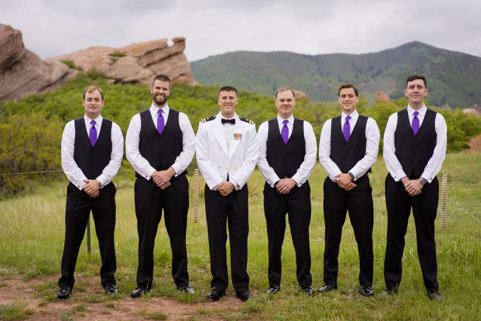 formal photo of groomsmen