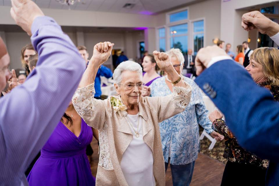 grandma getting jiggy with it