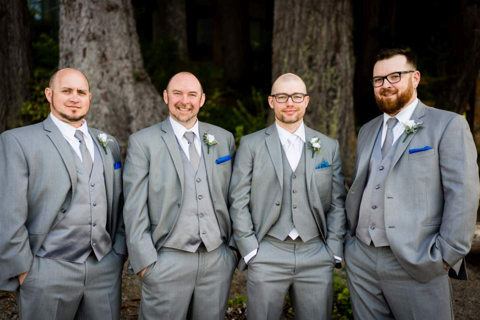 groomsmen photos lake quinault lodge