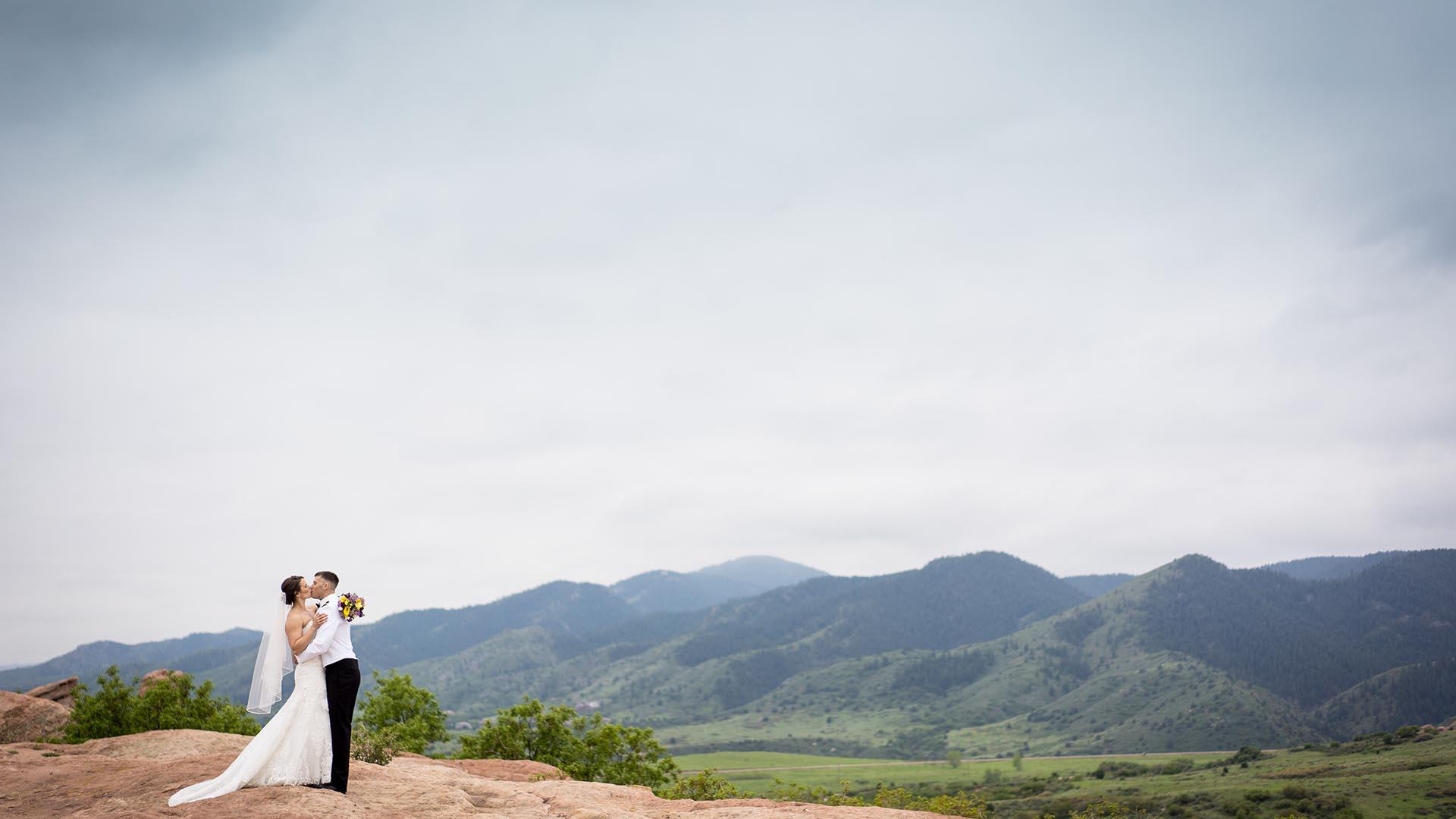 ken caryl wedgewood weddings bride and groom 1
