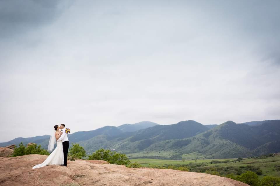 ken caryl wedgewood weddings bride and groom