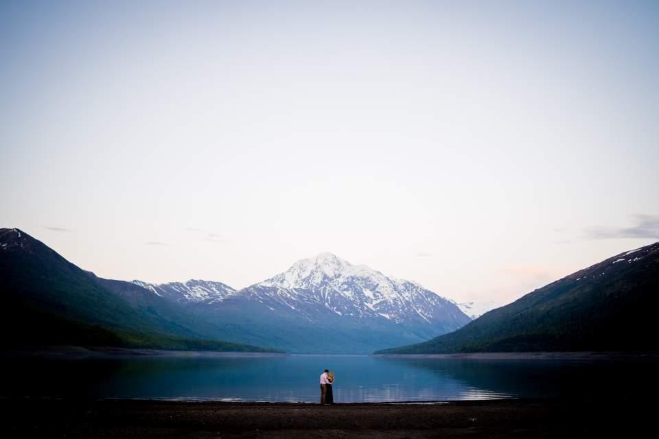 lake eklutna adventure couples photos