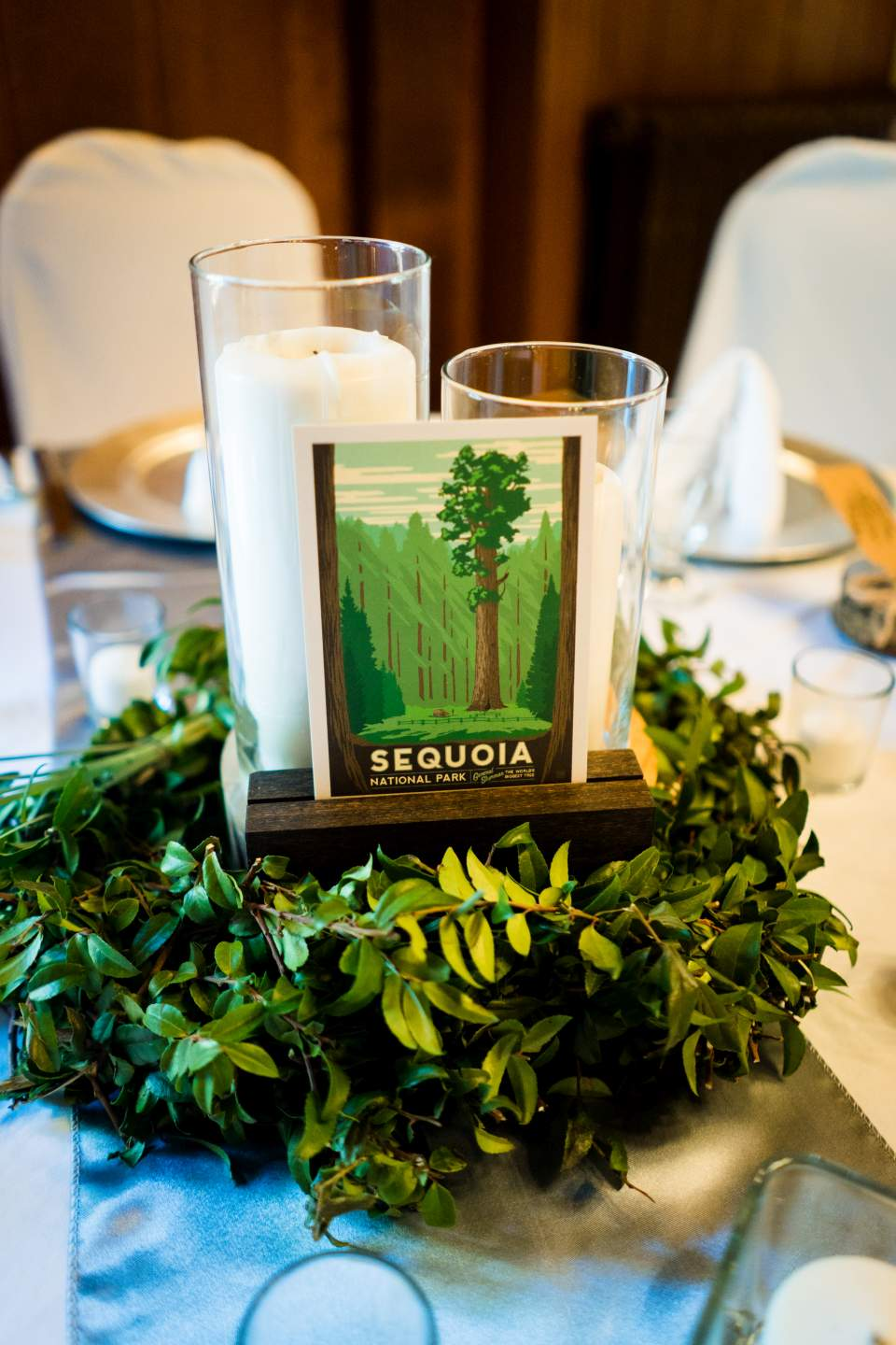 lake quinault lodge center pieces sequoia national park