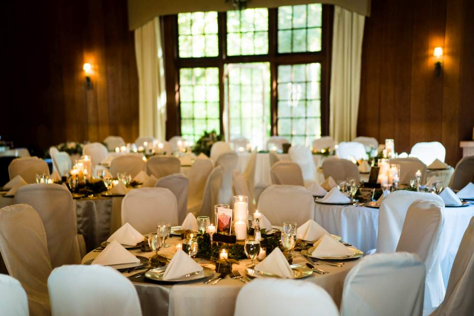 lake quinault lodge table scapes wedding details