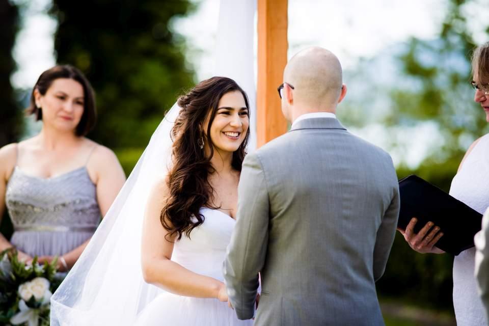 lake quinault lodge wedding ceremony photos