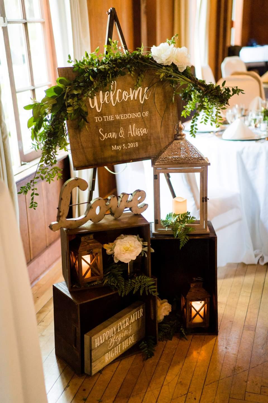 lake quinault lodge wedding detail photos
