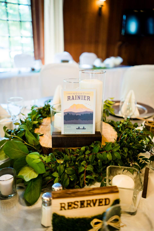 national park wedding decorations