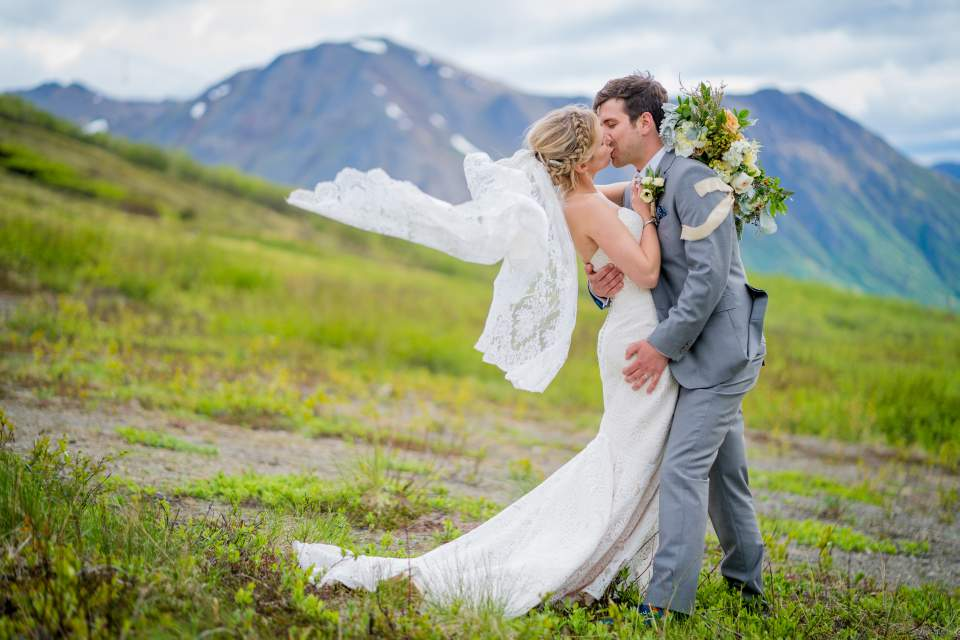 seattle couple gets married in anchorage destination wedding