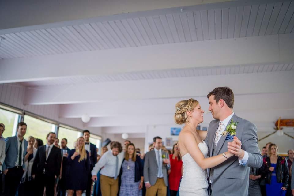 ski lodge wedding reception